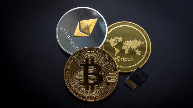 Cryptomonnaies ripple etehereum bitcoin